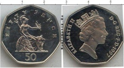 50 FIFTY PENCE 1997