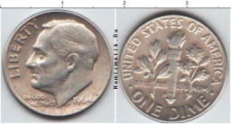 ONE DIME 1964